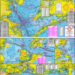 Fishing Map of Galveston Bay w/GPS