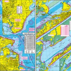 Wader's Map to West Galveston Bay w/GPS