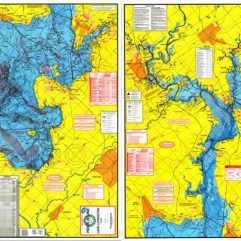 Lake Livingston Fishing Map w/GPS